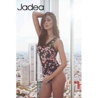 Jadea Coordinato Canotta spalla larga+slip a fantasia floreale ART.4760